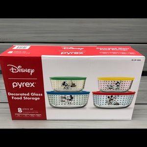 Disney Pyrex Storage Set 8pc